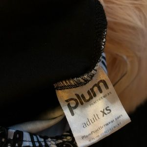 plum practicewear Swim - 🤑 Plum | One Piece Mod Black White Leotard